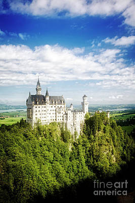 Photograph - Neuschwanstein by Scott Kemper