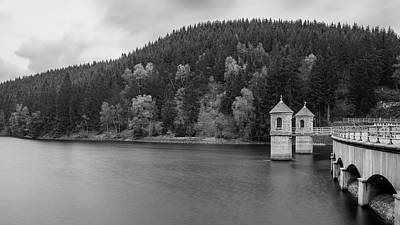 Photograph - Neustadt Dam , Southern Harz by Andreas Levi