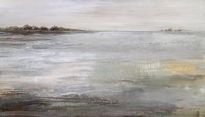 Water Droplets Sharon Johnstone - Neutral Scene by Karen Hale