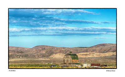 Photograph - Nevada Barn by R Thomas Berner
