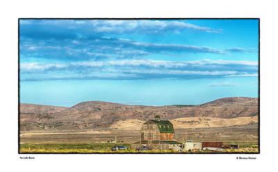 Photograph - Nevada Barn by R Thomas Berner