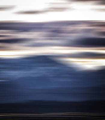 Nevada Blur #1 Art Print by Rob Worx