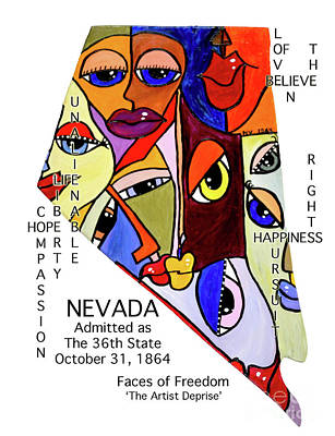 Painting - Nevada by Deprise Brescia