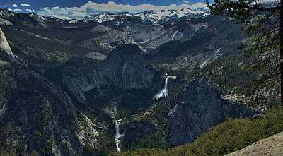 Photograph - Nevada Falls by Michael Gordon