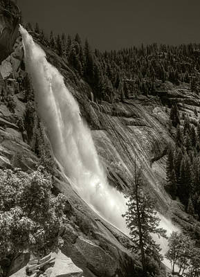Photograph - Nevada Falls by Michael Kirk