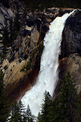 Photograph - Nevada Falls by Raymond Salani III