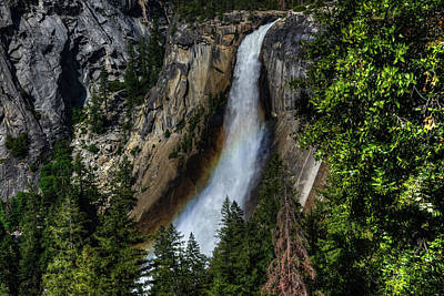 Photograph - Nevada Falls by Walt Sterneman