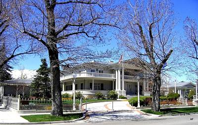 Photograph - Nevada Governors Residence by Will Borden