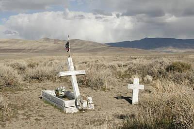 Nevada Grave Art Print