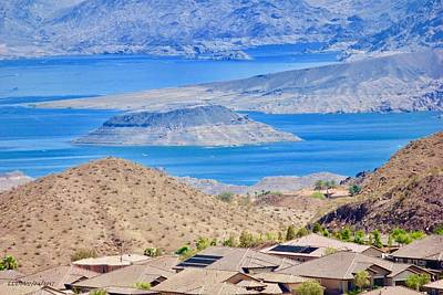 Photograph -  Lake Mead by Lorna Maza