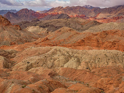 Photograph - Nevada Layers by Leland D Howard