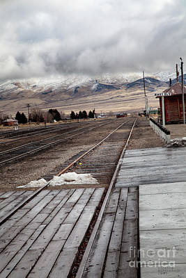 Photograph - Nevada Northern Railway Complex by David Millenheft