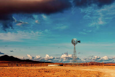 Photograph - Nevada Ranch Scene by Sofilayla