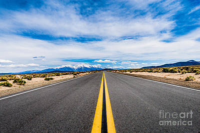 Photograph - Nevada Road Trip by Jim DeLillo