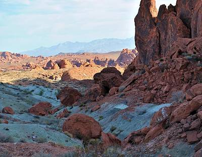 Photograph - Nevada Rocks 11 by John Hintz