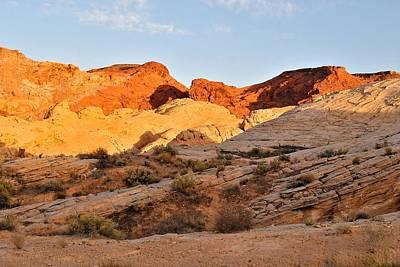 Photograph - Nevada Rocks 13 by John Hintz