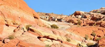 Photograph - Nevada Rocks 14d by John Hintz