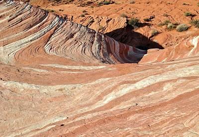 Photograph - Nevada Rocks 15 by John Hintz