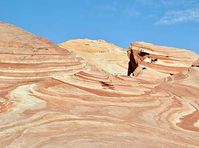 Photograph - Nevada Rocks 15d by John Hintz