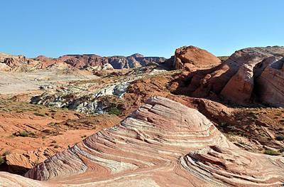 Photograph - Nevada Rocks 25 by John Hintz
