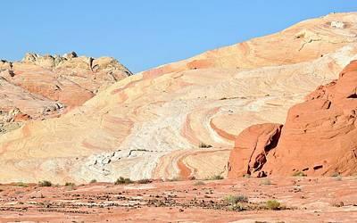 Photograph - Nevada Rocks 26b by John Hintz