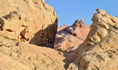 Photograph - Nevada Rocks 28 by John Hintz