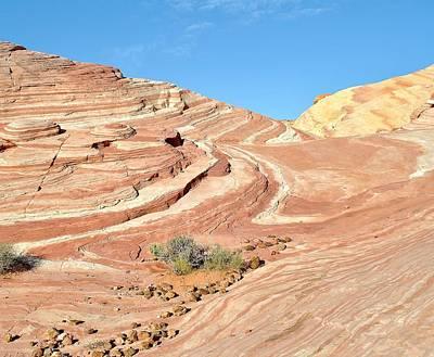 Photograph - Nevada Rocks 5 by John Hintz
