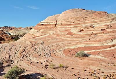 Photograph - Nevada Rocks 5a by John Hintz