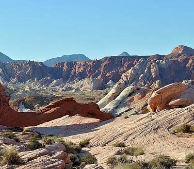 Photograph - Nevada Rocks 6 by John Hintz
