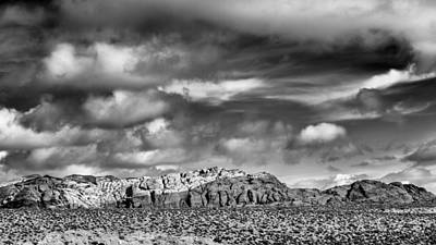 Red Rock Photograph - Nevada Skies by Joseph Smith