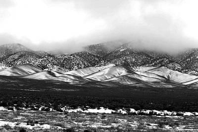 Nevada Snow Art Print