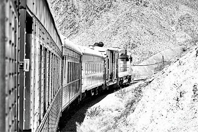 Photograph - Nevada Southern Railway And Union Pacific 844 Engine by Toula Mavridou-Messer