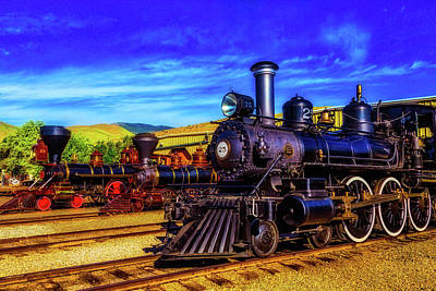 Photograph - Nevada State Train Museum by Garry Gay
