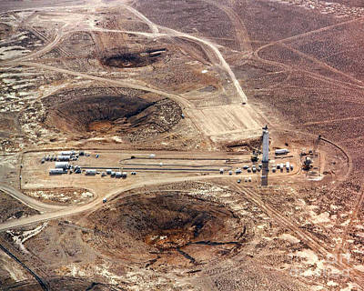 A-bomb Photograph - Nevada Test Site by Science Source