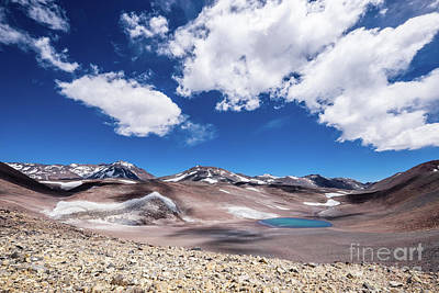 Photograph - Nevado Ojos Del Salado And Laguna Negra by Olivier Steiner