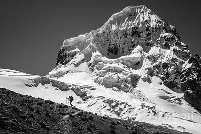 Photograph - Nevado Trapezio by Olivier Steiner