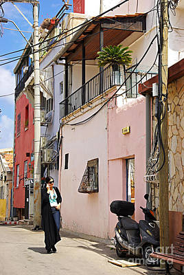 Neve Tzedek Neighborhood In Tel Aviv Art Print
