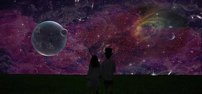 Digital Art - Never Alone Part 2 by Roy Peak