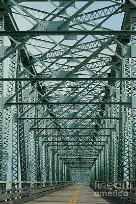 Photograph - Never Ending Bridge by E B Schmidt