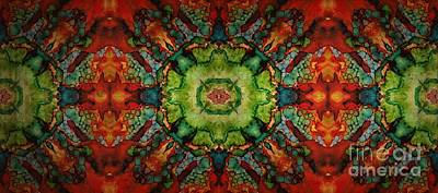 Mixed Media - Never Ending Patterns  by Jolanta Anna Karolska
