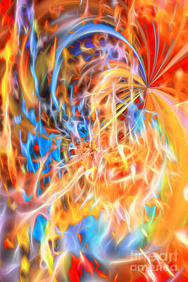 Digital Art - Never Ending Worship by Margie Chapman