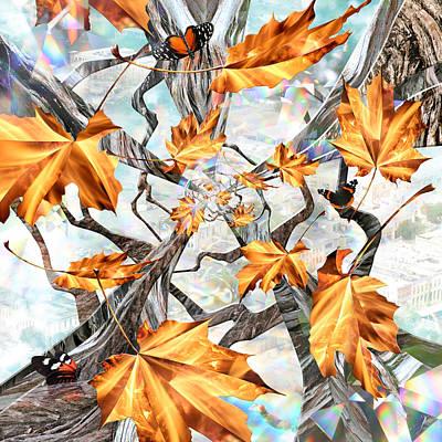 Admiral Digital Art - Never Forever by Leslie Kell