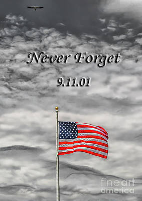 9 11 01 Photograph - Never Forget 9/11/01 by Anthony Tucci