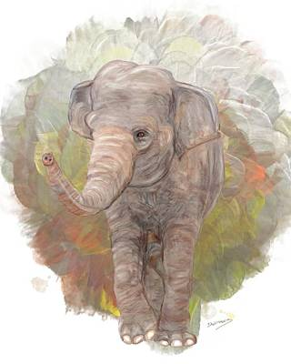Poaching Painting - Never Forget Me by David Wagner