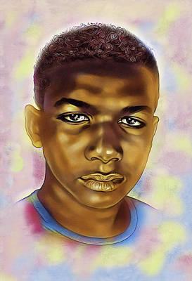 Digital Art - Never Forget Trayvon by Karen Showell