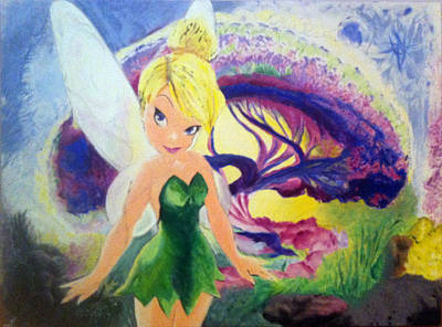 Tinkerbell Paintings | Fine Art America