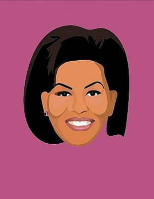 Michelle Obama Digital Art - Never Last Season by Snark Notes