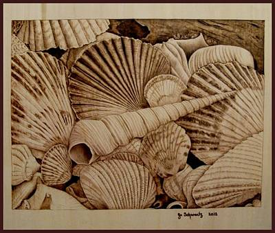 Pyrography Pyrography - Never Lonely At The Bottom by Jo Schwartz