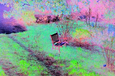 Photograph - The Lonely Chair by Dorothy Berry-Lound