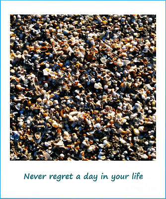 Never Regret A Day Art Print